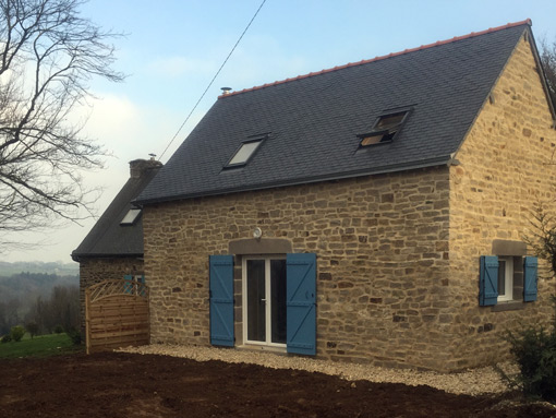 home renovation traditionnal breton property
