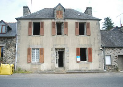 General condition of the house before refurbishment