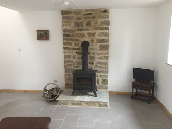 Wood Stove Installation In The Lounge Breton Build