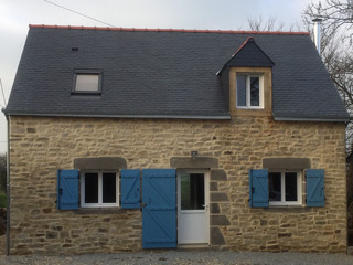 Home renovation in crédin morbihan brittany